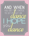 I hope you dance (dance)